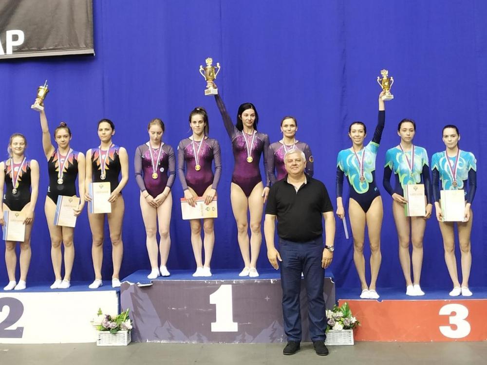 Батутистки из Таганрога завоевали бронзу на чемпионате России