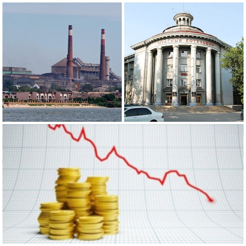 В топе-10 богатейших заводов Дона «Тагмет» на 4-м месте, а «Красного котельщика» нет вовсе