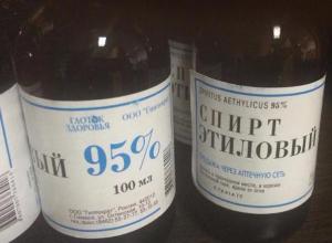 В Таганроге ввели «сухой закон» на продажу этилового спирта