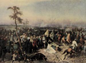 В Этот день Русская армия Петра I разбила шведскую армию короля Карла XII в Полтавском сражении