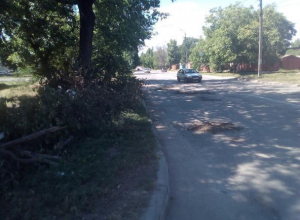 Ремонт «нано-пылью» таганрогских дорог заметил автолюбитель