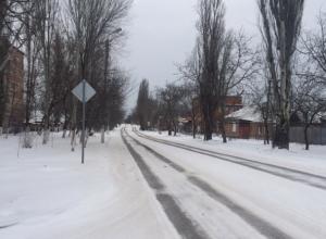 Власти Таганрога забыли, что в снегопад город чистят (Фото)