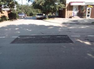 В некачественном дорожном ремонте уличили жители Таганрога дорожников