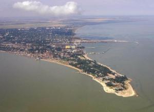Таганрогский залив становится солёнее