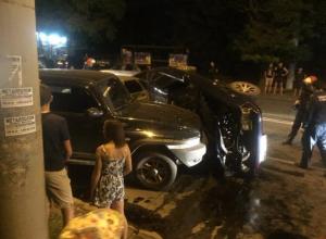 Авария с «цирковым кульбитом» произошла в Таганроге