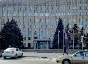 В Белом доме Таганрога загорелся шестой этаж