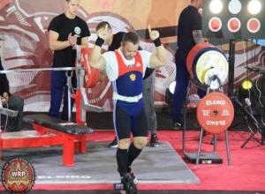 Таганрожец установил новый мировой рекорд на международном турнире по жиму лежа