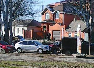 В Таганроге произошло необычное ДТП