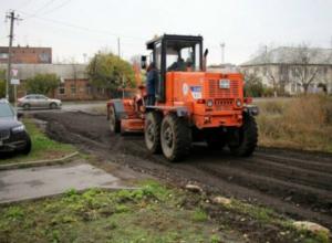 Дорогу для целого жилого квартала построил за собственные деньги житель Таганрога