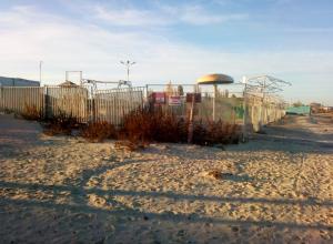 Район  пляжа «Елисеевский» превратился в свалку в Таганроге