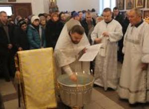 Богослужения пройдут в семи храмах Таганрога на Крещение