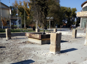 Жителей волнует стройка  в сквере  возле бывшего стадиона «Тагмет»