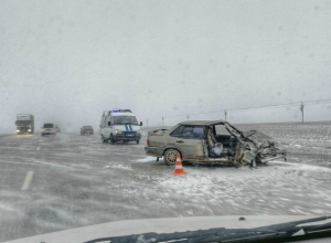 В ДТП на трассе Ростов-на-Дону  - Таганрог  пострадали люди