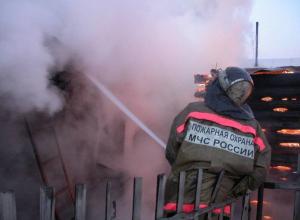 В Таганроге церковная свеча послужила причиной серьезного пожара