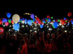 Рождественский фестиваль светошариков проходит в Ростове