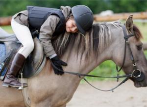 Таганрогские дети-инвалиды показали высший класс в конном спорте