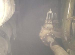 Авария на тепломагистрали в Таганроге