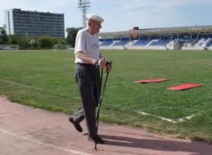 95-летний пенсионер Вадим Терновой получит золотой значок ГТО