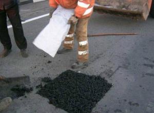 Коммунальщики Таганрога составили план-график по латанию дыр  на дорогах