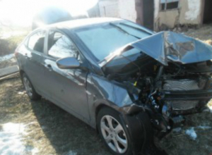 Автоледи, выехав на втречку, покалечила водителя Hyundai в Таганроге