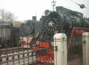 В Таганрог прибыл ретро- поезд «Победа»