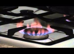 Жительницу Таганрога насторожил цвет газа в конфорке