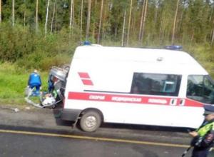 Массовая авария произошла под Таганрогом