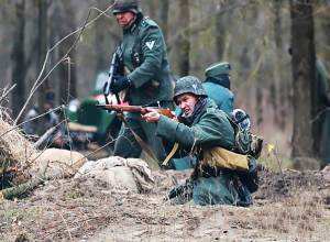 Таганрог участвовал  в реконструкции боя за освобождение Ростова