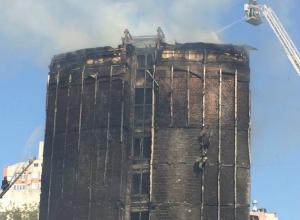 Задыхающиеся от дыма ростовчане в панике выпрыгивали из окон пылающего бизнес-отеля
