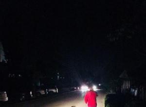 Таганрожцам надоело отсутствие света на улицах города