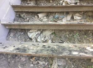 Открыли с помпой старую «новую» лестницу к морю в Таганроге