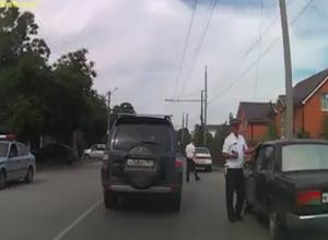 Сотрудники ГИБДД нашли выгодное место для ловли нарушителей в Таганроге
