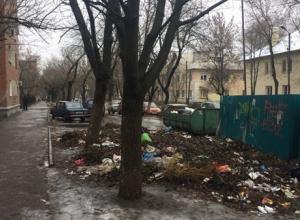Свалка в Таганроге на улице Калинина растет