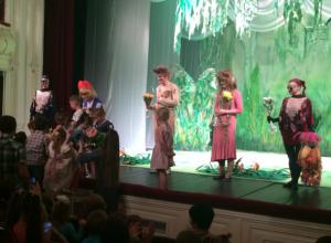 Театральный чемоданный сезон проходит в театре им А.П.Чехова в Таганроге