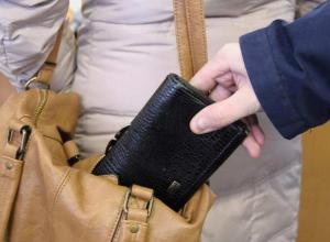 В Таганроге задержали транспортную карманницу