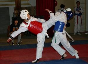 В Таганроге начались соревнования по тхэквондо