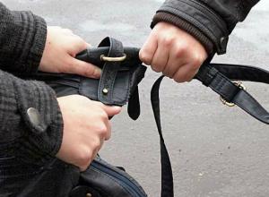 В Таганроге заключен под стражу серийный грабитель
