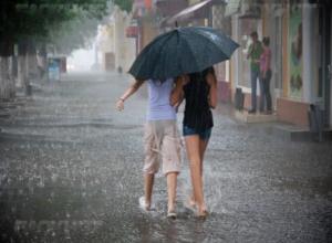 Таганрожцев предупреждают о сильном ливне с грозой и градом