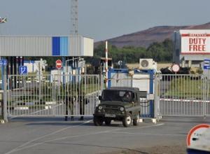 Сервисная зона для пересекающих российско-украинскую границу открыли в Матвеево-Кургане