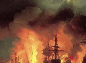 7 июля 1770 года День победы русского флота над турецким флотом в Чесменском сражении