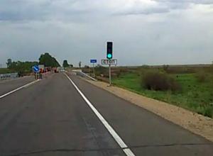 Светофоры появятся на автодороге Ростов - Таганрог после ремонта