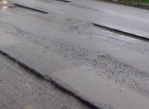 Недобрым словом помянули дорожных работников таганрогские автомобилисты