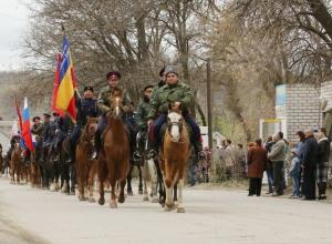 В Таганроге были подведены итоги военных учений казачьего общества молодежи