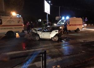Жестокая тройная авария на проклятом перекрестке отправила на больничные койки трех человек