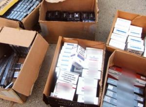 Контрафактные сигареты на два миллиона рублей изъяли полицейские Таганрога