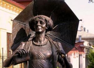 Календарь: 10 лет со дня открытия памятника Раневской в Таганроге
