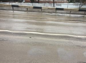 Печальный репортаж  с  Бакинского моста в Таганроге