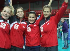 Таганрогская команда стала бронзовым призером чемпионата России по настольному теннису