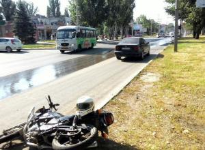 В Таганроге разыскивают свидетелей ДТП на улице Дзержинского