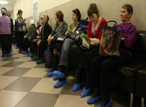Таганрогская поликлиника попала под пристальный взгляд общественности